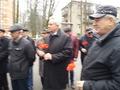 На Выстреле прошел митинг и возложение цветов к памятнику погибших воинов