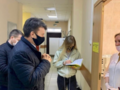 Мониторинг пункта вакцинации в ТУ Луневское
