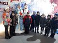 Открытие дома Деда Мороза