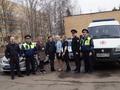 Общественники и полицейские сдали кровь