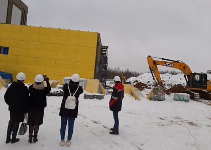 Общественники провели мониторинг строительства школы