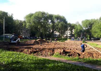 Промежуточный общественный контроль благоустройства дворовых территорий