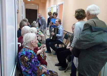 Благотворительная Пасхальная акция в Ленинской больнице