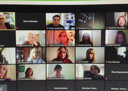 Члены Общественной палаты приняли участие в онлайн заседании по защите прав несовершеннолетних