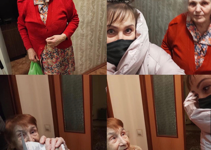 Волонтеры Общественной палаты городского округа Солнечногорск продолжают помогать жителям 65+