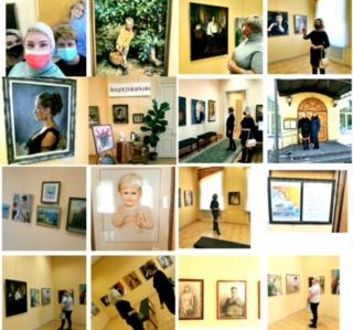 Члены Общественной палаты посетили выставку художника А.Маркина