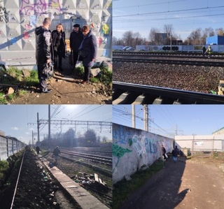 Мониторинг по выявлению травмоопасных мест и участков РЖД в городском округе Солнечногорск