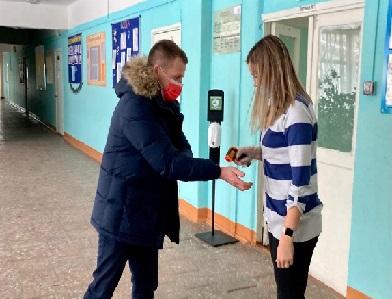 Мониторинг горячего питания в школе в п.Лунево