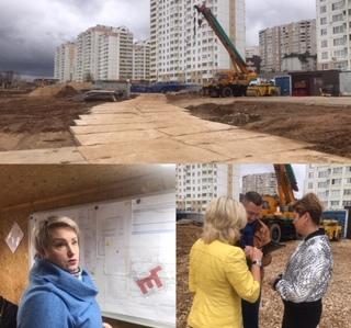Мониторинг строительства общеобразовательной школы на 1100 мест
