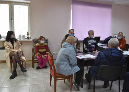 Общественники встретились с жителями ЖК Березки
