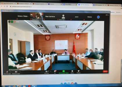Участие в заседании комиссии по развитию культуры ОПМО