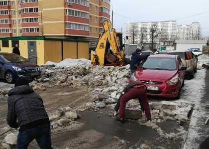 Мониторинг работы подрядной организации в Андреевке