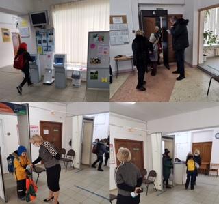 """Общественный контроль """"утренний фильтр"""" в школе № 6"""
