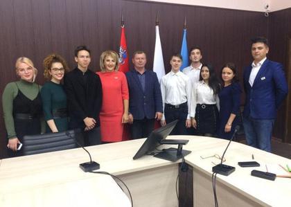 Члены Общественной палаты участвовали в заседании Молодежного парламента