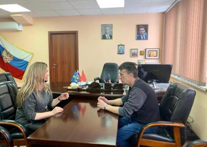 Обсудили совместную работу с руководителем ТУ Луневское