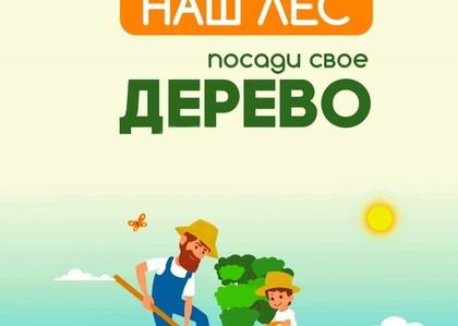 """Акция """"Наш лес. Посади свое дерево"""" пройдет в Подмосковье в сентябре"""